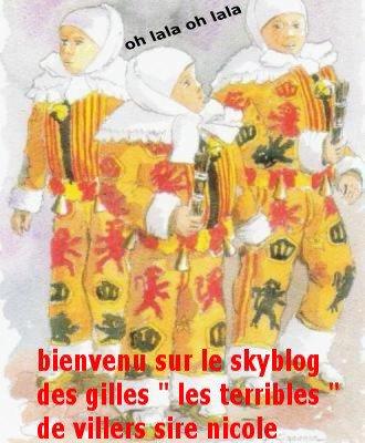 """bienvenu sur le skyblog de la societe de gilles """" les terrible..."""