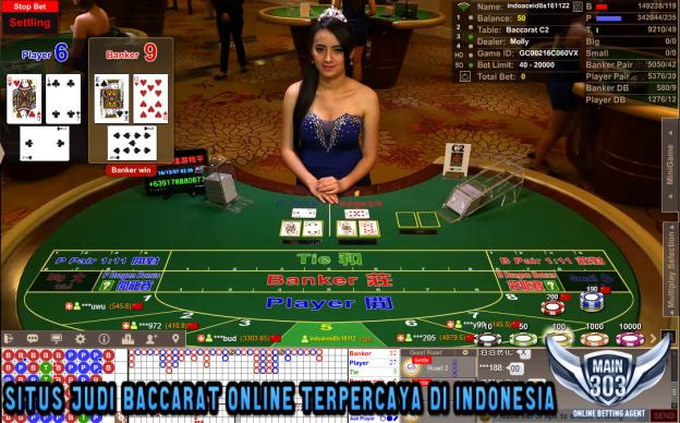 Situs Judi Baccarat Online Terpercaya di Indonesia