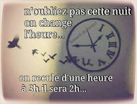 attention ont as changer d heures