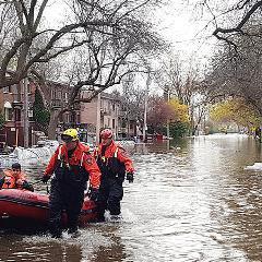 Inondations: conseils pour éviter les infections liées à l'eau (Santé publique de Montréal)