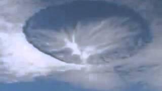 Un ph�nom�ne inexpliqu� et effrayant au dessus du Mexique !