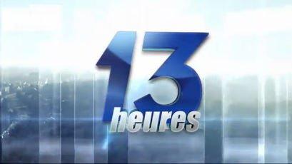 JT 13h du 28 novembre 2014, Journal télévisé 13h : RTBF Vidéo