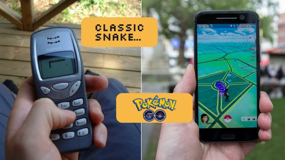 From Snakes to Pokémon Go – How AR has Developed Gaming Apps