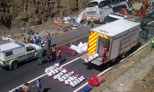 Bus crash victims undergo post mortems