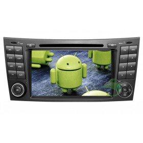 Android 4.0 Auto DVD Player GPS Navigationssystem für Mercedes-Benz E Klasse W211(2002-2008)(E200 E220 E240 E270 E280)