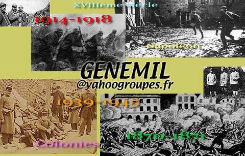 genemil : Généalogie militaire