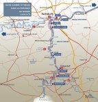 Direction générale opérationnelle de la Mobilité et des Voies hydrauliques - Carte 5 : Namur