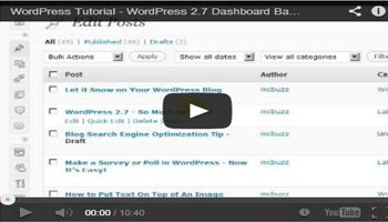 Basic Introduction of Blogging with Using Wordpress Panel