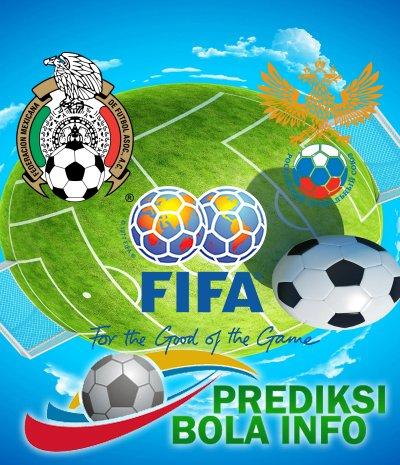 Prediksi Meksiko Vs Rusia 24 Juni 2017