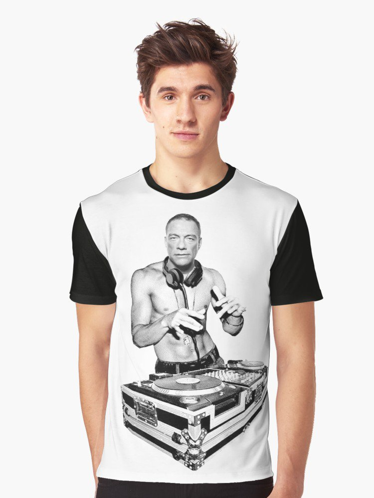 'Dj van Damme' T-shirt graphique by Ali-87