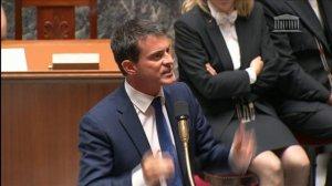 Vote de confiance/Discours de Valls/Medef