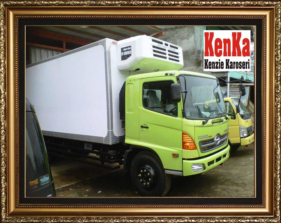 Truck Hino Box Pendingin – Karoseri Mobil & Truck KenKa