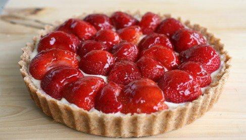 Recette - Tarte aux fraises | Notée 4.2/5
