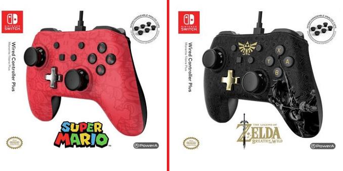 Manettes Nintendo Switch filaires bientôt commercialisées.