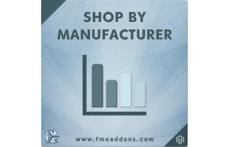 Shop by Brand / Manufacturer Extension - Magento Connect