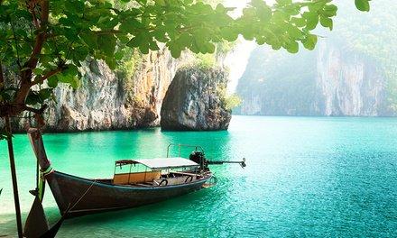 Thaïlande : 12 nuits avec hébergement, croisière et visites à Phuket et Bangkok pour 1 personne