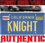 82 PONTIAC FIREBIRD KNIGHT RIDER LICENSE PLATE SUPERCAR