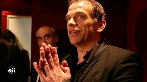 Garou en live au Casino de Paris reçoit son disque de platine