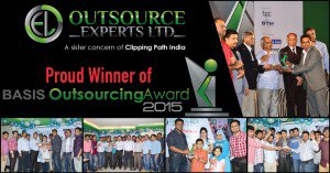 Outsource Experts Ltd. Honored With 2015 BASIS Outsourcing Award - Clipping Path India