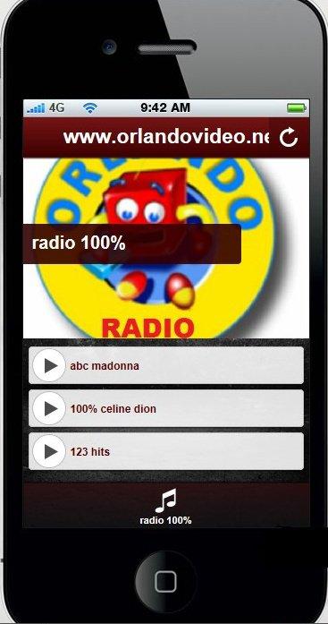 radio 100% celine dion et 100% madonna