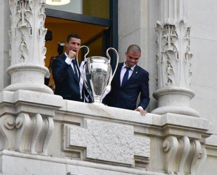 Pepe Menghindar Saat Ditanya Masa Depan Ronaldo