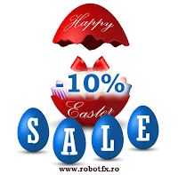 RobotFX News: Easter SALE, 10% discount