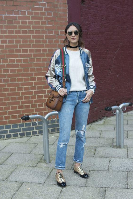 The Luxe Bomber Jacket ~ LifeStyle Fashion