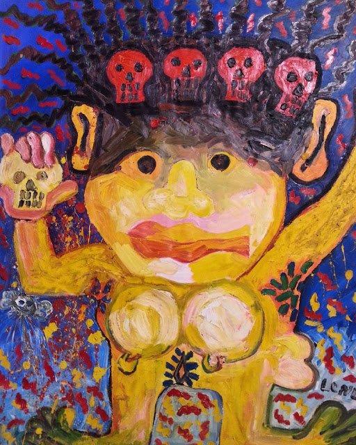 Exposition Art Blog: Hugo Longa - Magical Painting and Surreal Iconography