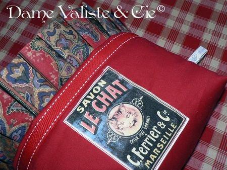 Tuto du vide-poches à volant plissé © - Dame Valiste & Cie