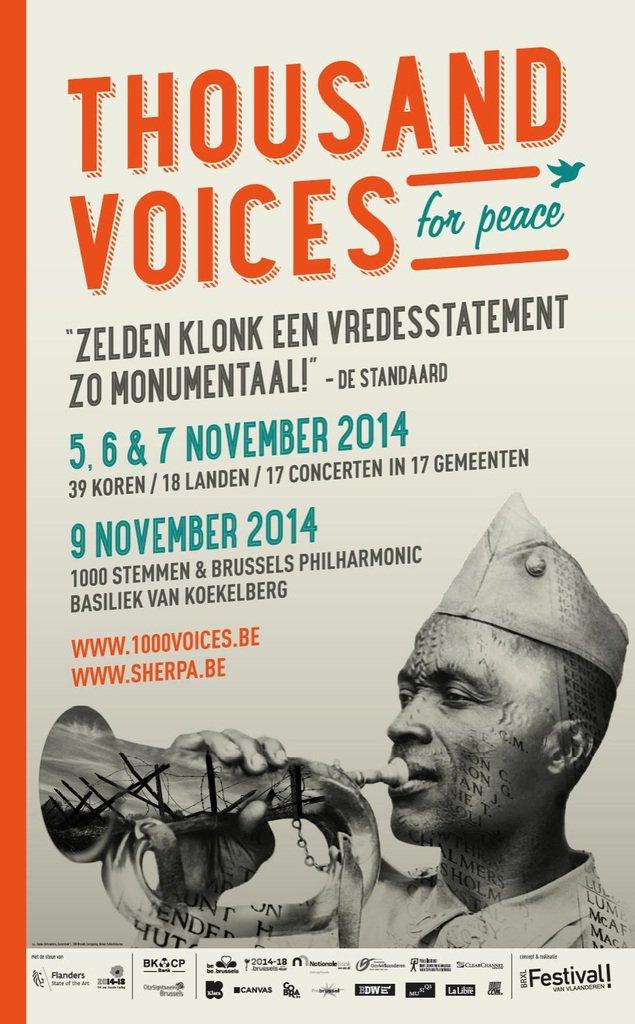 """Un oratorio pour la paix à Koekelberg : """"1000 Voices for Peace"""" - Last night in Orient"""