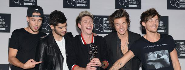 One Direction élus Groupe international de l'année aux NRJ Music Awards 2014 | fan2