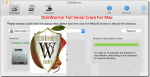 DiskWarrior 5.0 Cracked Serial For Mac OS Sierra Full Download