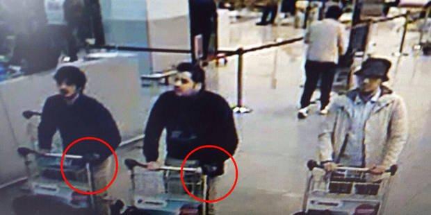 Attentats de Bruxelles: le détail révélateur sur la photo des suspects à Brussels Airport