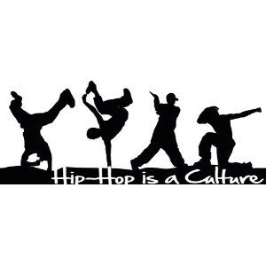 Sticker Danse 147 - Hip Hop Culture - 146x57 cm: Amazon.fr: Cuisine & Maison