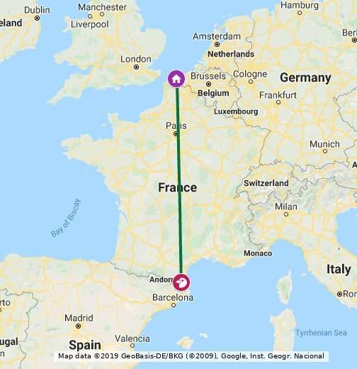La Méridienne - Google My Maps