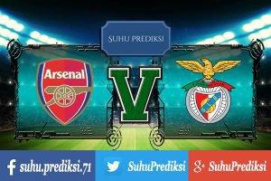 Prediksi Bola Arsenal Vs Benfica 29 Juli 2017