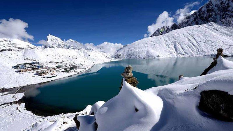 Gokyo Cho La Pass Trek, Cho La Pass, Everest Base Camp, Gorekshep