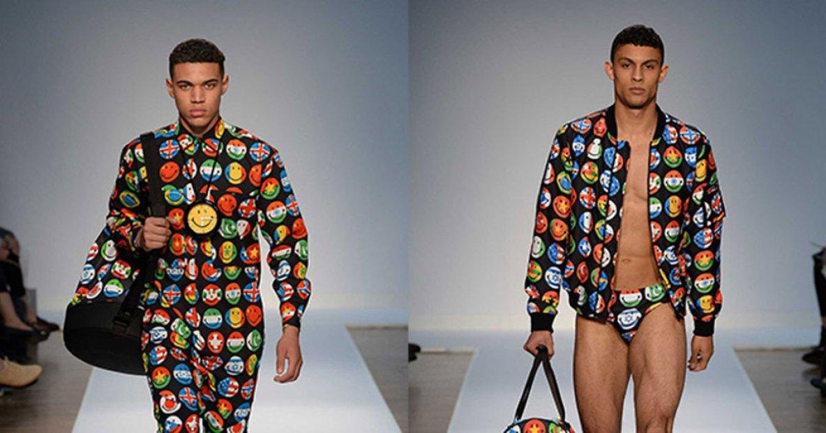 Le jogging à motif Emoji, vêtement de l'année 2015 ?