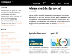 SitePenalise.fr : entreprise de référencement - keldirectory