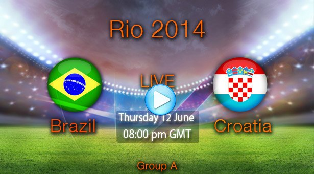 Get ready for the world cup football 2014, watch all match in free live streaming !
