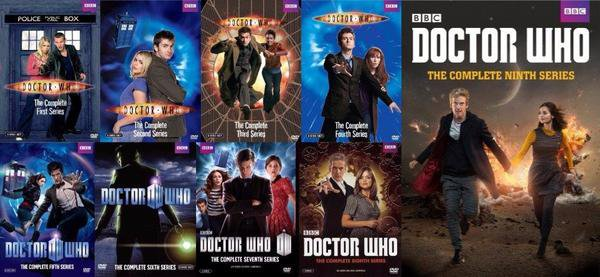 Doctor Who Series 1-9 (DVD)
