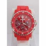 Montre Ernest rouge - montre homme-montre de couleur