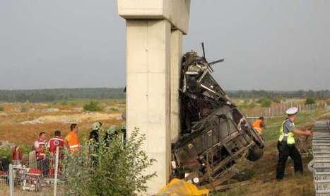 14 touristes tués dans un accident d'autocar en Croatie
