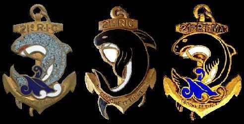 21 régiment d'infanterie coloniale-21 R.I.C.