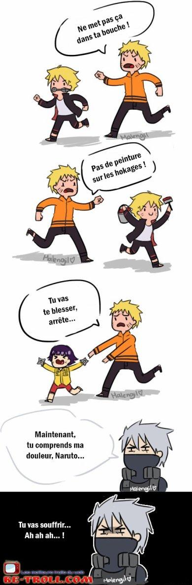 Tu vas souffrir Naruto… | Be-troll