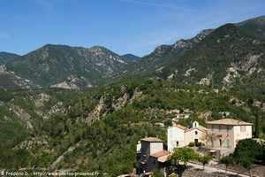 Malaussène, commune des Alpes-Maritimes