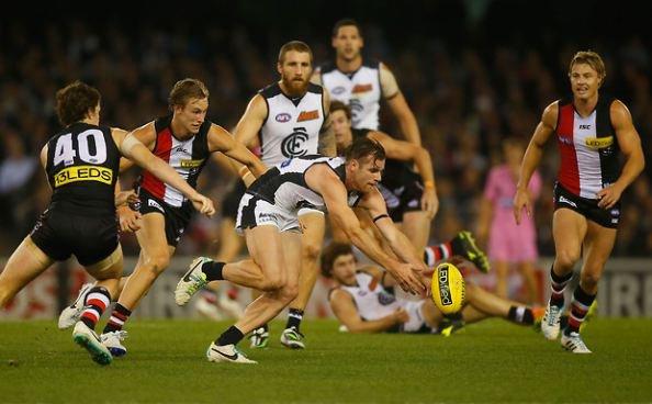 Australian Football League Live – Round 16 – Carlton vs St Kilda – 6th July