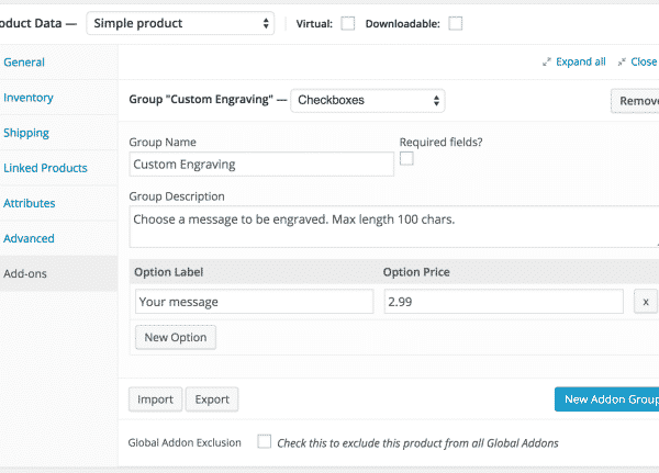 Product Add-ons 2.9.1 Extension For WooCommerce - Get Lot