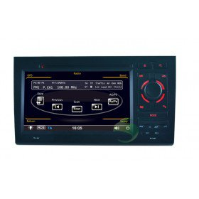 Auto DVD Player GPS Navigationssystem für Audi S4(2002 2003 2004 2005 2006 2007 2008)