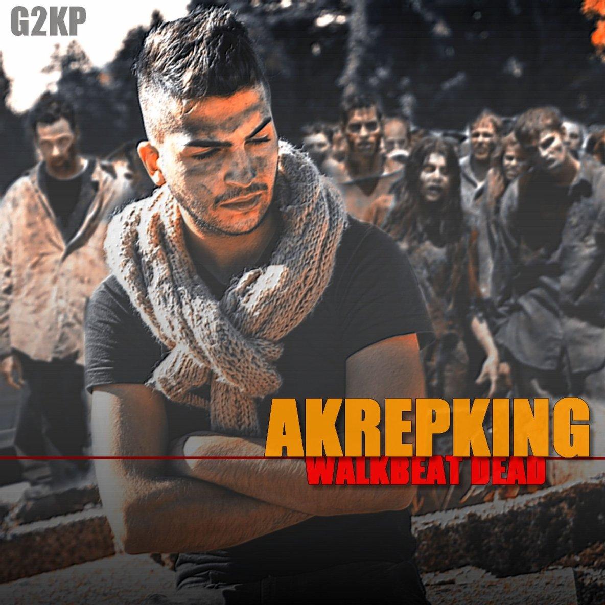 Comme prevu voici la sortie de l album Walkbeat Dead de Akrepking qui est une compilation d instru pour les rapeurs en recherche !!! donne de la force a ce jeune artiste a lavenir devant lui !!!! big up